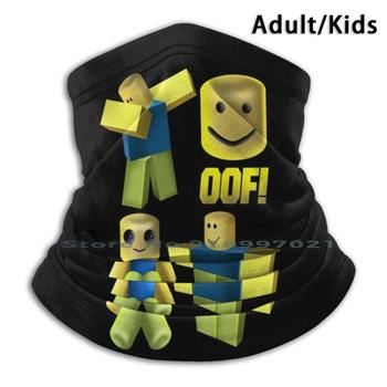 Oof , Oof Noob Head , Noob Scarf Mask Neck Warmer Face Wraps Foulard Bandana Mascarillas Game Games Gamer For Kids For Boys For image