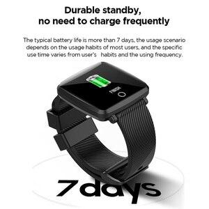 Image 2 - Lenovo HW25P Smartwatch צמיד 1.3 אינץ 2.5D מסך IPS צבעוני תצוגת Bluetooth ספורט קצב לב צג IP68 חכם שעון