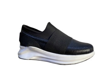 Women's Black Orthopedic Sneaker Sports Shoes 32150 1