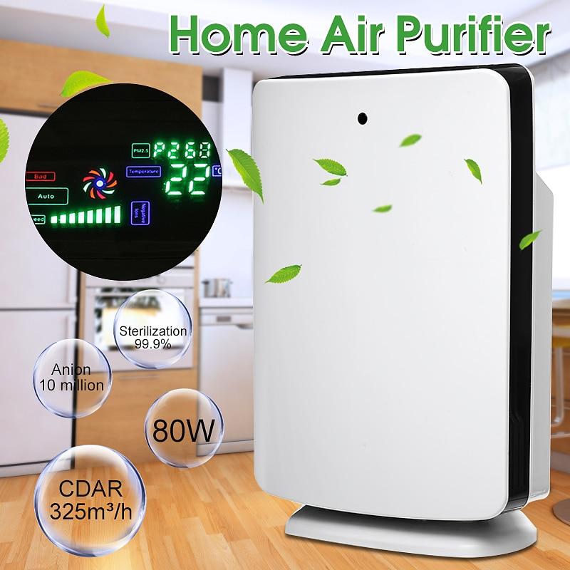 AUGIENB Home Office Air Purifier True HEPA Filter Odor Allergies Remover For Smoke, Dust, VOCs, Pollen, Pet Dander,PM2.5