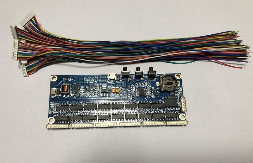 Kit d'horloge de Tube de lueur de Tube d'électron de bricolage panneau de noyau IN14 QS30 IN12 PCBA universel