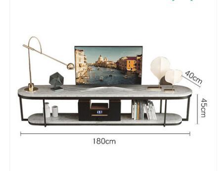 Boreal Европа Современная мраморная Настольная Ваза чайный стол сочетает в себе сокращенную эллиптическую двухслойную Настольная Ваза чайный стол гостиная в помещении - Цвет: 4