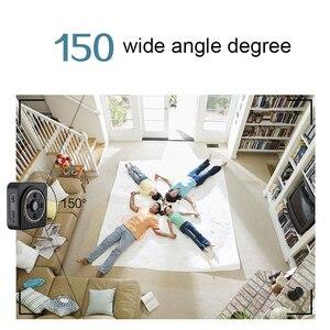 Image 2 - Mini cámara Wifi de 150 grados, gran angular, IR, visión nocturna, H5, Micro Cam, compatible con tarjeta TF oculta, videocámara DVR secreta