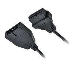 Czarny 12pin OBD1 do 16pin OBD2 konwerter kabel adapter skaner diagnostyczny części