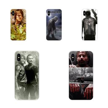TPU Covers Cases For Xiaomi Redmi Mi 4 7A 9T K20 CC9 CC9e Note 7 9 Y3 SE Pro Prime Go Play Darly Dixon The Walking Dead Zombies image