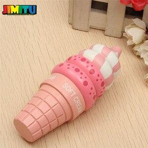 Image 5 - Jouets de cuisine en bois semblant jouer crème glacée jouets alimentaires jouer cadeau pour enfants cuisine magnétique vanille chocolat fraise