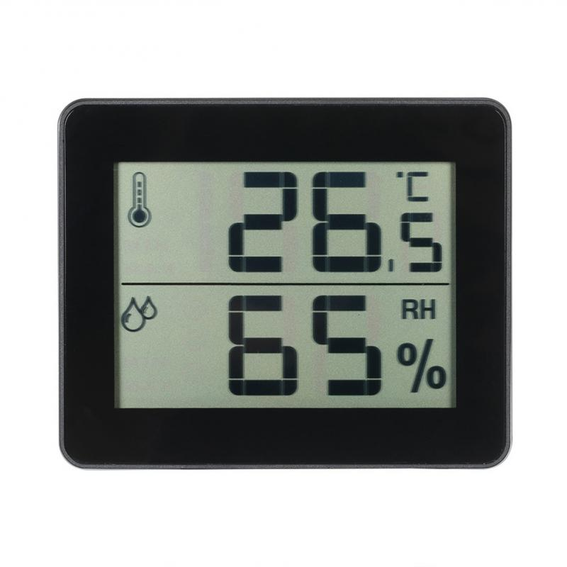 Automatic Multifunction LCD Electronic Temperature Humidity Meter Digital Thermometer Hygrometer Weather Station Alarm Clock