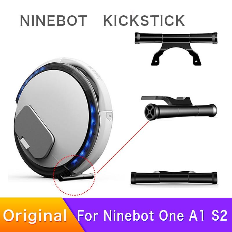 Original Kickstick para Ninebot Um A1 S2 Batman Apoio para Os Pés de Equilíbrio Monociclo Scooter Elétrico Peças do Suporte de Estacionamento