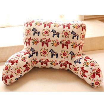 Husband Pillow with Arm Support for Bed and Sofa Used during Reading and watching TV