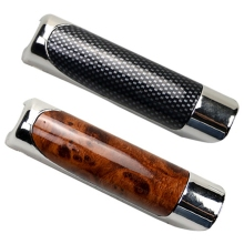 Wood-Grain-Protection-Cover Lever-Sleeve Car-Styling-Accessories Hand-Brake Decoration