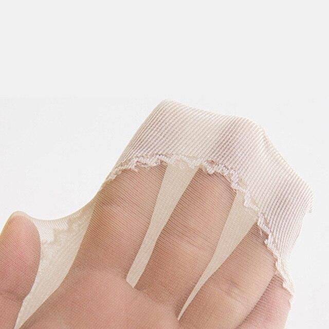 Набор хлопковых мягких модных ультратонких дышащих прозрачных женских носков 6
