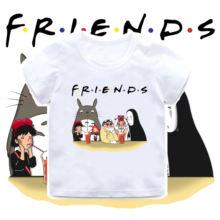 2020 летняя футболка для маленьких мальчиков с рисунком из мультфильма