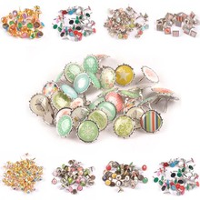Brads Scrapbooking Embellishments Fasteners-Supplies Crafts Metal for C2583 Mixed Retro
