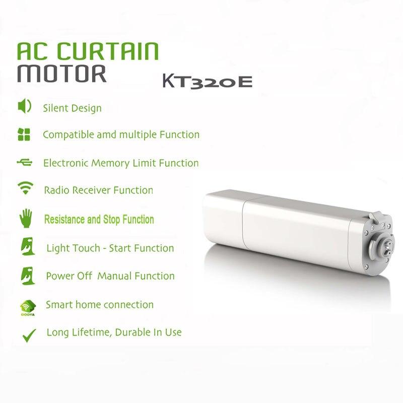 Dooya Smart Curtain Motor KT320E Smart Home Electric Smart Curtain For Auto Motorized Curtain Track Compatible Alexa Smart Blind