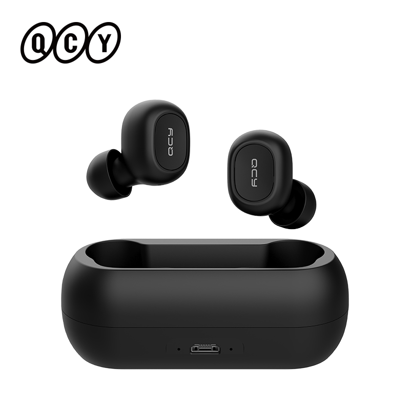 QCY T1C Wirless Bluetooth Headphones Sports Running In ear Eardphones APP Customization with Pop up