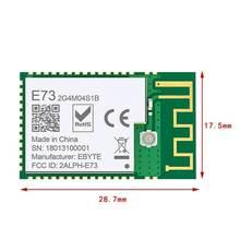 Прочный приемник приемопередатчика nrf52832 24 ГГц e73 2g4m04s1b