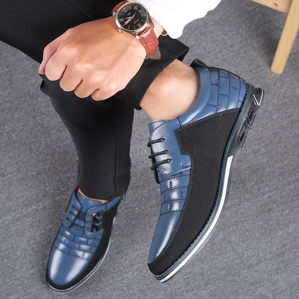 Heb673d55c6f3433db1111dac71406d96H 2019 New Big Size 38-48 Oxfords Leather Men Shoes Fashion Casual Slip On Formal Business Wedding Dress Shoes Men Drop Shipping