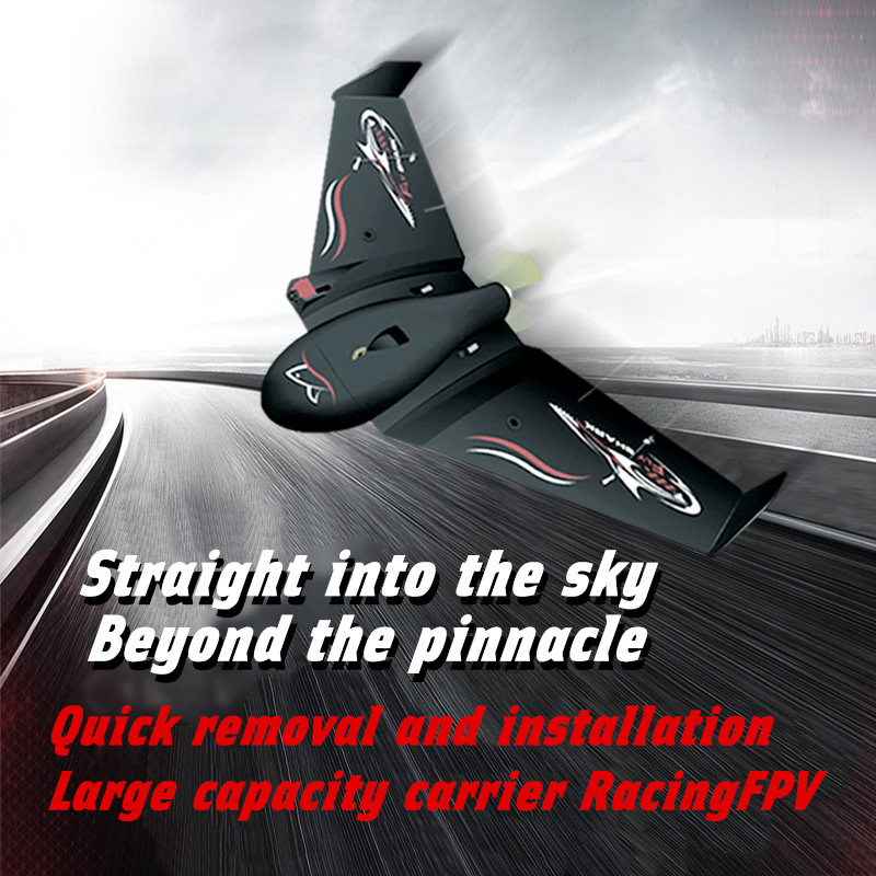 New flying shark RC Airplane EPP Foam Airplane Flying Model Aircraft Kits Delta Wing Electric Remote Control Glider model image