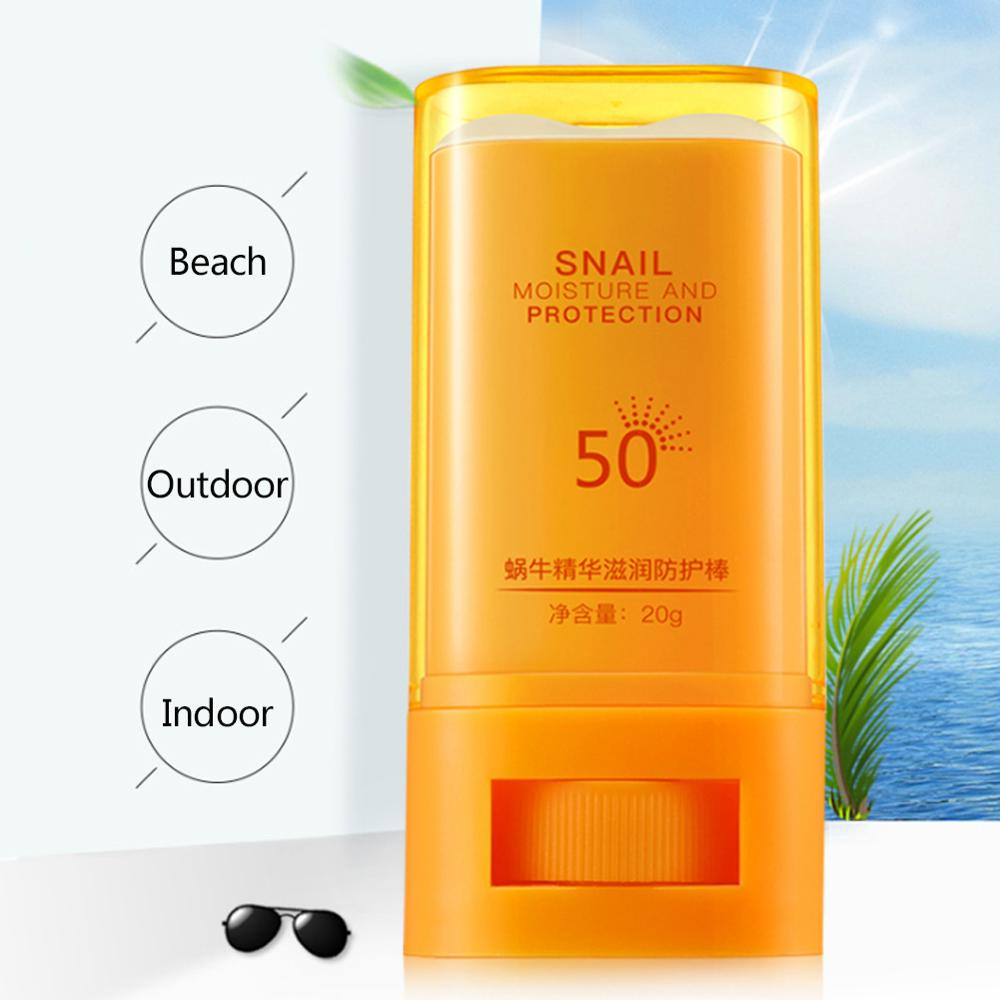 Snail Essence Moisturizing Anti-uv Rod Hydrating Nourishing Ultraviolet-proof Sunscreen Cream