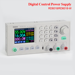 RD6018 RD6018W USB WiFi DC-DC Voltage Step Down Power Supply Module Buck Converter Voltmeter Multimeter Case 30% OFF