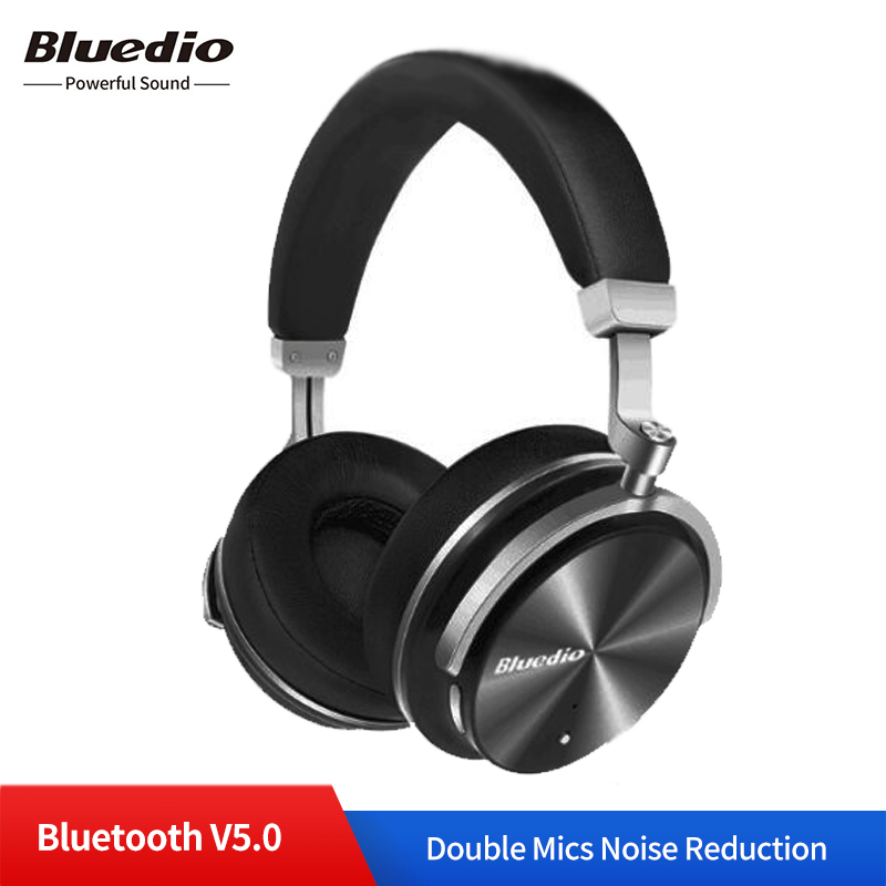 Original Bluedio T4 casque sans fil Bluetooth écouteurs avec Microphone Bluetooth stéréo son musique casque pour téléphones