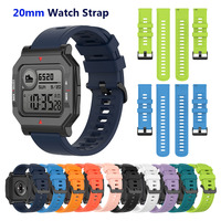 Cinturini in Silicone da 20mm per Amazfit Bip/ Bip Lite/ Bip U/ Bip S Amazfit GTS/GTS 2 Amazfit GTR 42mm NEO Smartwatch cinturino