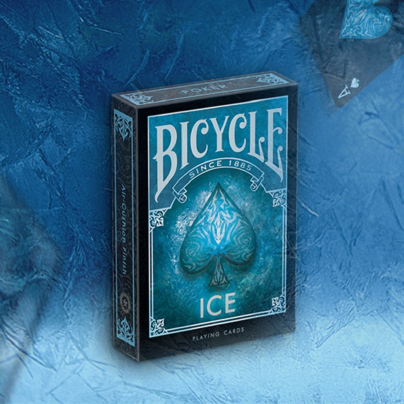 Bicycle Ice Playing Cards Deck Collectable Poker USPCC Limited Edition Sealed Magic Cards Magic Tricks Props For Magician