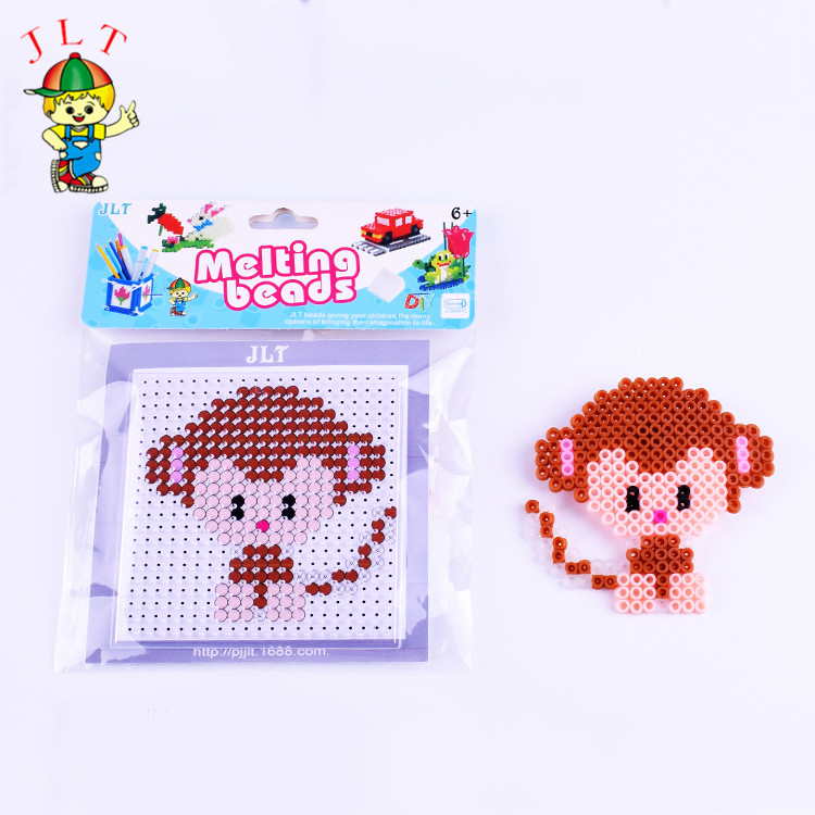 DIY Monkey  Perler Beads 5mm Hama Beads  Puzzle Education Toy  3d Puzzle