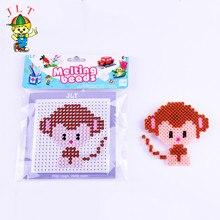 DIY mono perler cuentas 5mm hama cuentas juguete 3d rompecabezas