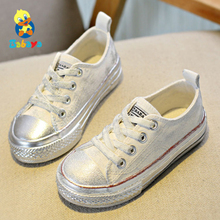 Children shoes girls sneaker boys Spring Autumn Candy color Lace-Up Child canvas shoes Boys yellow red White Kids shoes for girl cheap babaya Rubber COTTON Fits true to size take your normal size Solid autumn spring Breathable Unisex casual shoes tenis infantil