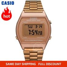 Часы Casio цвета розового золота мужские брендовые Роскошные светодиодсветодиодный цифровые водонепроницаемые кварцевые мужские часы спорт...