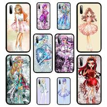 Monsters High Anime Fitted Phone Case For Samsung S Note20 10 2020 S5 21 30 ultra plus A81 Cover Fundas Coque