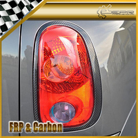 For Mini R53 MINI Cooper/Cooper S/ONE 2001 2006 Carbon Fiber Rear Light Surround/Taillight Cover Trim Body Kit For R53