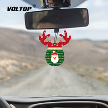 Christmas Antler Ornaments Car Accessories for Girls Hanging Decoration Interior Pendant Perfume Air Freshener