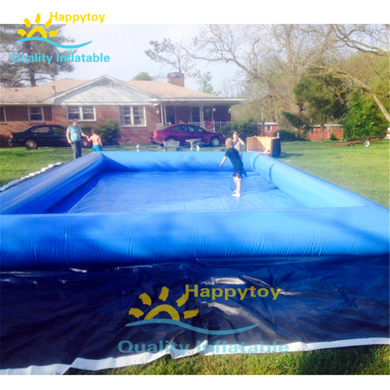 Giant Big Size Inflatable Water Pool For Play Boat And Walking Ball