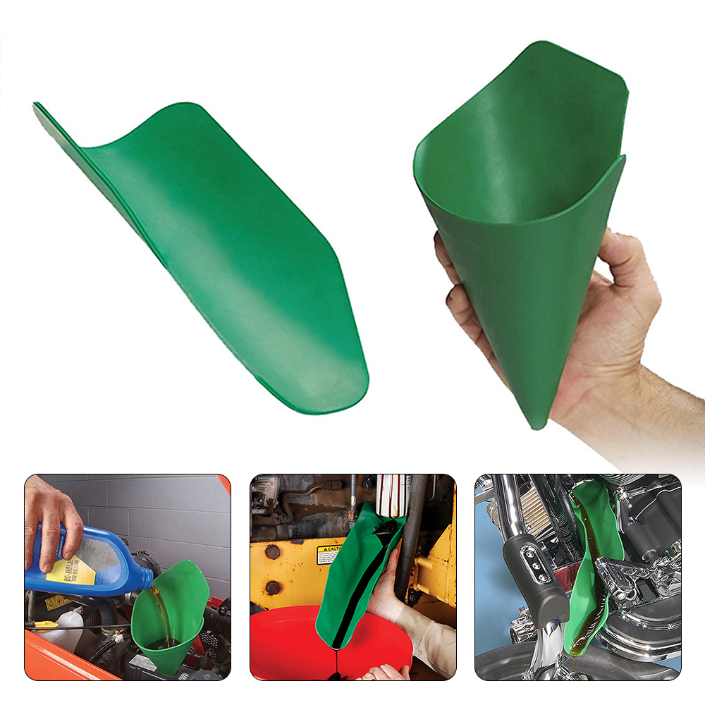 Hot Sale Flexible Drainage Funnel Oil Guide Tool Draining Device For Car Truck Boat Cycle Tractor Industrial Equipment Car Tools