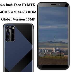 Face ID 9C 4G RAM 64G ROM Smartphones 5MP+13MP Mobile Phones 5.5