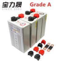 4PCS Grade A 3.2V 100AH 2020 NEW CALB lifepo4 battery Lithium Iron Phosphate Cell solar 12V100AH cells not 120Ah EU US TAX FREE