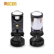 Car headlights 120 w/pair lamp H4/9003/HB2 Hi/Lo led double H4 LED lens projector20000LM lampada led Canbus 12v 24V bulb