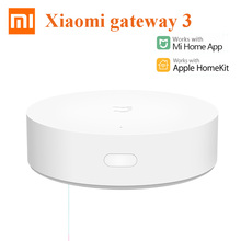 Xiaomi Gateway3 Multimode Gateway Support ZigBee WIFI Bluetooth Mesh protocol Smart Home Work With Mijia app Apple Homekit Use