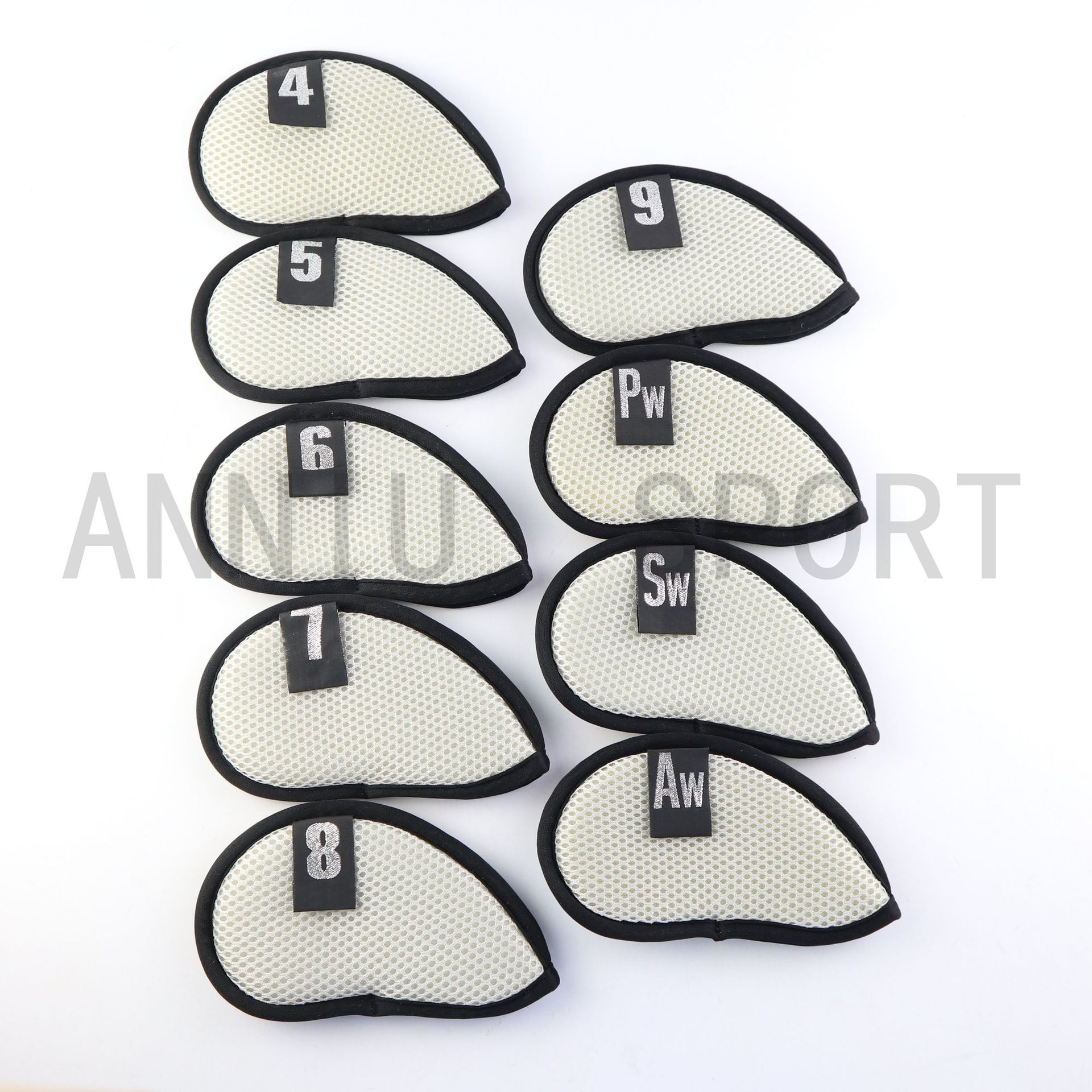 Manufacturers Direct Selling Cross Border Electricity Supplier Golf Club Sleeve Head Covers Protective Case Iron Stem Casing Mes