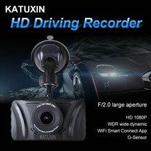 HD Car DVR Camera WIFI Mini Dash Cam Connection APP 3 Inch Screen Night Vision Recorder KATUXIN R801