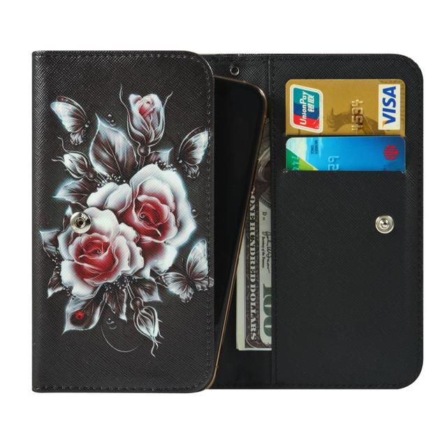 Intex aqua a4 amaze crystal jewel lions 2 3 4g n1 t1 x1 plus note 5.5 카드 슬롯이있는 지갑 스타일 cover bag phone case