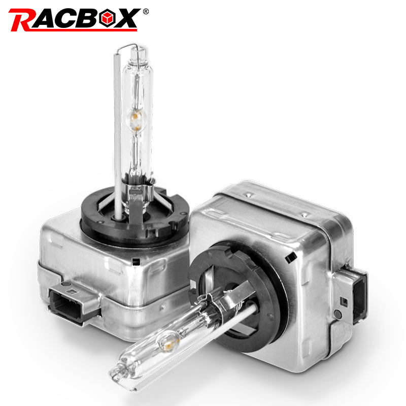 RACBOX HID Bulb <font><b>D1S</b></font> 35W <font><b>Xenon</b></font> HID Lamp Car Globe Light Car Lights Headlight 3000K 4300K 5000K <font><b>6000K</b></font> 8000K 12000K Flashing image