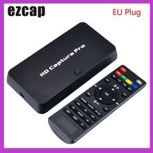 Ezcap 295 HD לכידת וידאו 1080P מקליט USB 2.0 השמעה לכידת כרטיסי w/מרחוק חומרה H.264 קידוד עבור xbox אחד PS4