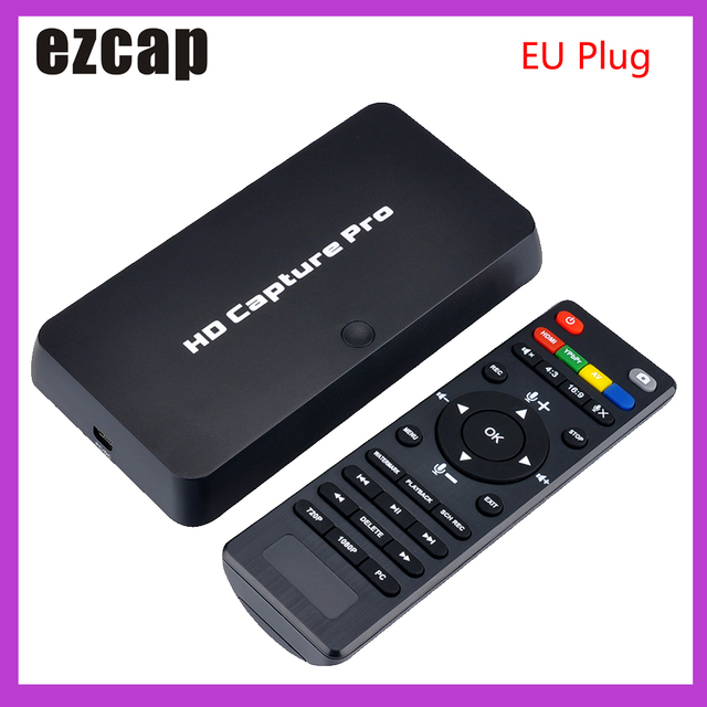 Ezcap 295 HD Video Capture 1080P Recorder USB 2.0 Playback Capture Cards w/ Remote Hardware H.264 Encoding For Xbox One PS4