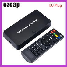 Ezcap 295 HD Video Capture 1080P Registratore USB 2.0 Schede di Acquisizione Riproduzione w/ Remote Ferramenteria E Attrezzi H.264 Codifica Per xbox One PS4