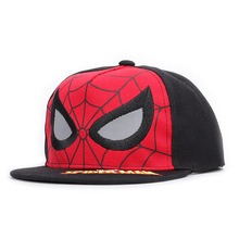 Anime Spider-Man Embroidered Baseball Caps Boy Girl Universal Adjustable High Quality Children Outdoor shade streetwear snapback