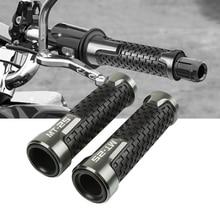 7/8''22mm Motorcycle Rubber Hand Grip Bar handlebar grips Handle Bar Grip Cnc Aluminum For YAMAHA MT-25 MT-10 MT-07 MT-09