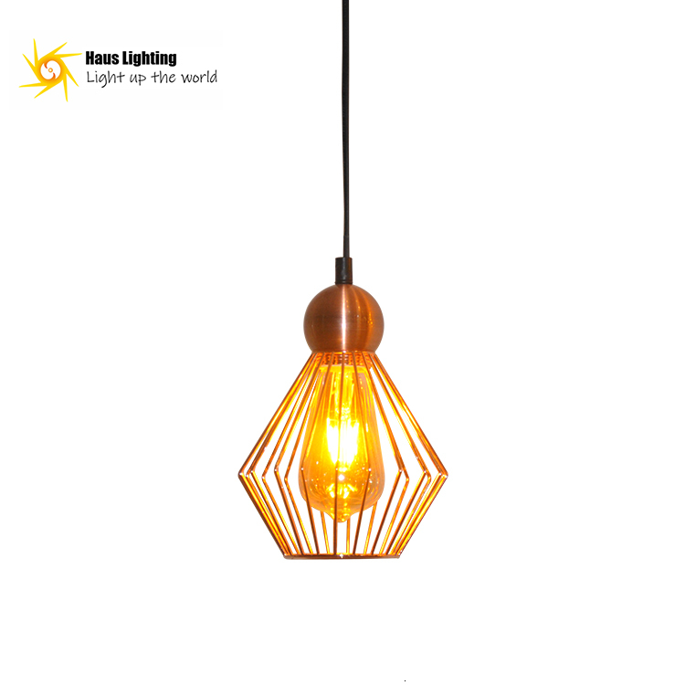 New Design Iron Modern Archaize Style Decorates Indoor Household Sitting Room Bedroom Small Pendant Lamp Kitchen Chandelier|Pendant Lights| |  - title=